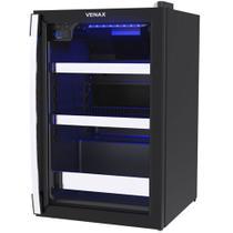 Cervejeira Venax Blue Light 100L Preto Fosco 220V 12197 - Venax Eletrodomesticos Ltda