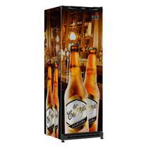 Cervejeira Vertical Esmaltec Geladíssima CV300R 348L Adesivada 220v -