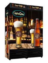 Cervejeira Vertical P. Cega Dupla 1200L Rf019 PUB Frilux -