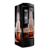 Cervejeira Visa Cooler Expositor Vertical Porta Visor 497 Litros Vn50fl New - Metalfrio 127V -