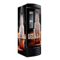 Cervejeira Visa Cooler Expositor Vertical Porta Visor 497 Litros Vn50fl New - Metalfrio 220V -