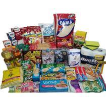 Cesta Básica Completa Alimentos Higiene E Limpeza - 36 itens - Diversas