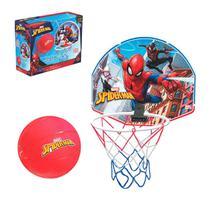 Cesta De Basquete Infantil Com Bola Homem Aranha Spiderman - Lider