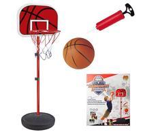 Cesta De Basquete Kit Tabela Ajustavel Bola Bomba e Rede (DMT5091) - Dm toys
