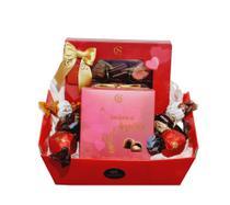 Cesta de Chocolates Presente p/ Dia dos Namorados - Grandes Marcas