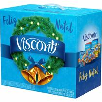 Cesta de Natal Grande Visconti - 15 Itens -