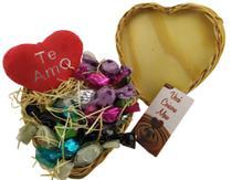 Cesta Presente Namorados Te Amo Você Coisou Meu Coração - Lieben Chocolates Finos