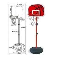 Cesta tabela de basquete infantil completa altura ajustavel - Dm Toys