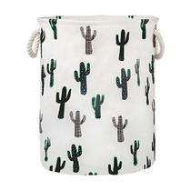 Cesto Organizador Brinquedos Roupas Cactus 60l Mor -