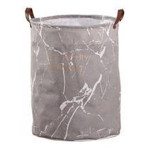 Cesto organizador roupa suja dobrável grande 40x50 - Amigold