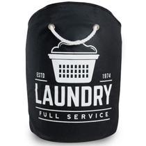 Cesto Organizador Roupa Suja Laundry Alça Secalux -