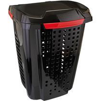 Cesto para roupas suja 70 litros com divisor de roupas - Marfimetal Web