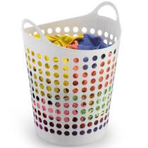 Cesto Plástico 44L P/ roupas flexível 1546 Arthi -