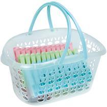 Cesto Plástico C/Prendedores 36pçs 6071 Mor -
