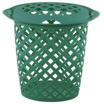 Cesto roupas plástico 46,5l verde Cód. 5526 - Sanremo