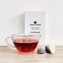 Chá Atenção em Cápsulas compatíveis c/ Nespresso - 10 un - Cápsula Express
