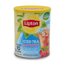 Chá Gelado em pó Sabor Framboesa Lata 670g - Lipton -