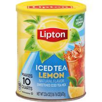 Chá Gelado em pó Sabor Limão Lata 670g - Lipton -
