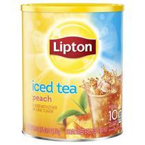 Chá gelado lipton instantâneo em pó sabor pêssego peach 670g -