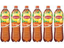 Chá Lipton Pêssego 1,5L - 6 Unidades