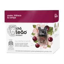 Chá Mate com Hibisco e Cereja 10 Sachês - Leão Senses -