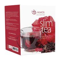 Chá Slim Tea Akmos 150g Hibisco e Casca de Laranja - Natusaude - Natusaúde