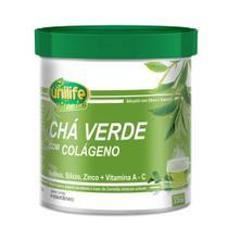 Chá Verde com Colágeno Limão 220g Unilife -