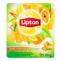 Chá Verde com Laranja e Maracujá Lipton 20g -