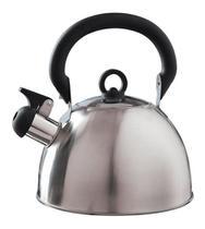 Chaleira Aço Inox 2l Delizie - Mor Agua Fogão Apito Café -