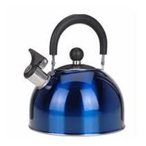 Chaleira Color 2,5 l com Apito - Azul - Wellmix