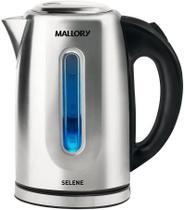 Chaleira Elétrica Selene Inox 127V Mallory - 1,7 Litros -
