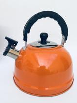 Chaleira Wellmix Em Aço Inox 2,5 Litros Com apito -