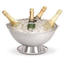 Champagneira Inox Perlage com Base Coletora e Grelha Separadora Destacável 12,2 Litros Forma -