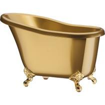 Champanheira Banheira Suprema PS Dourada Marmorizada 7,8 Litros Boccati -