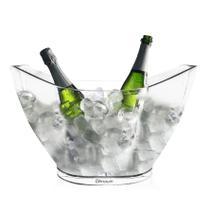 Champanheira Oval Grande KrystalON Transparente Acrílico PS 9L -