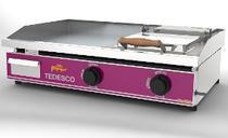 Chapa bifeteira à gás com tampa bg-82 linha gourmet primeira linha - Tedesco