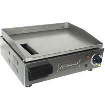 Chapa Lanches Elétrica Grill 40X30 1200W 220V Cozinha Cotherm 2522 Profissional Industrial Inox -