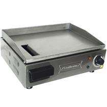 Chapa Lanches Elétrica Grill 40X30 1200W Cozinha Cotherm Profissional Industrial Inox -