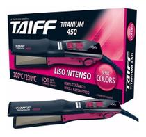 Chapa Profissional 200ºc / 230ºc Íons - Titanium 450 - Taiff -