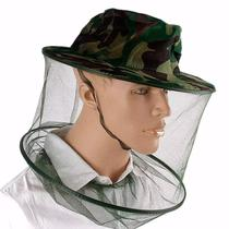 Chapéu anti mosquito mosquiteiro pernilongo pesca trilha selva - Tht
