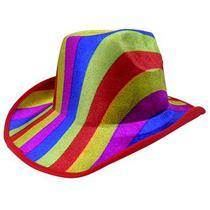 09eda8dbd9 Chapeu Cowboy Kit Com 3 Colorido Festa Carnaval Fantasia Baile - Braslu