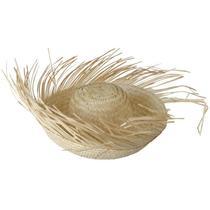 Chapéu de Palha Caipira Desfiado - Samia