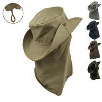 Chapéu De Pesca e Jardinagem Com Proteção De Pescoço 1un - Shopfc