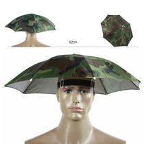 Chapéu de Pesca Protege da Chuva e do Sol - Camuflado - Fisgar