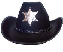 Chapéu xerife - Bazar