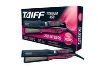 Chapinha de Cabelo Taiff Titanium 450 Colors Pink -