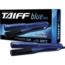 Chapinha Prancha Alisadora de Cerâmica BLUE ÍON Azul TAIFF -
