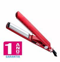 2af5ca804 Chapinha Prancha Profissional Titanium Cor Vermelha Até 450ºF - Bivolt -1  Ano de Garantia -