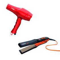 Chapinha Taiff Titanium Colors + Secador Red Ion VM 220V -