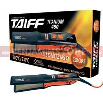 Chapinha Titanium 450 Taiff Série Colors Laranja Profissional Linha Diamante -
